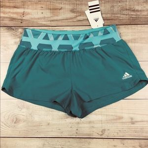 NWT ADIDAS Grete Climacool Running Shorts